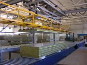 Линия для производства сэндвич-панелей Б/У Саранск