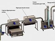 Линия переработки пленки (200кг/ч Климовск