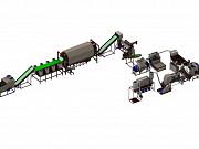 Комплекс вторичной переработки полигонной ПЭТ (600кг/ч Подольск