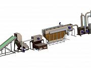 Комплекс переработки полигонной пленки (350кг/ч Видное