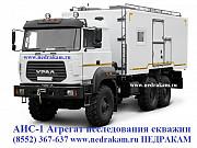 Агрегат исследования скважин АИС-1 УРАЛ 4320 для гидродинамических исследований на нефтегазовом мест Набережные Челны