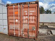 Купить контейнер 20 футов бу в Сикон СПб Санкт-Петербург