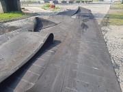 Конвейерная, транспортерная лента б у от 1, 45 м Шахты