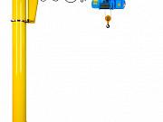 Консольный поворотный кран, 3, 2 т, консоль 5 метров, высота подъема 4 метра Красноярск