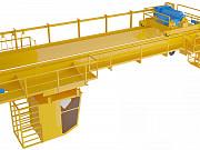 Кран мостовой двухбалочный г/п 16 тонн пролёт 16 метров Красноярск