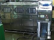 Автоматический моноблок линия розлива 19л бутылей Москва