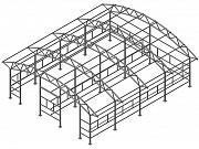Изготовление металлоконструкции ангара, склада, пром здания Красноярск