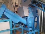 Промышленная моющая дробилка 801-DLS для пластика Москва