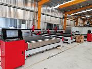 Автомат для резки cnc стальной и алюминиевой плиты водоструйным Москва