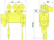 Таль электрическая, грузоподъемность – 10 т, высота подъема – 12 м., ТЭ-10000 Нижний Новгород