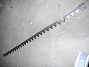 Нож с литой (стальной) головкой, сегмент Н 066.02, КЗНМ 08.040/4.1 Бийск