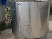 Емкость нержавеющая, объем — 1 куб.м. рубашка, термос, мешалка, эл. нагрев, вертикальная, инв 1445 Москва