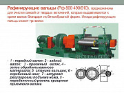 Продам Вальцы рафинирующие РФ 800 Б/У Нижнекамск