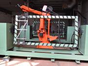 Ссварочный робот для крышки люков вагонов в наличии. Комплекс Ярославль