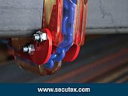 Защитные угловые полиуретановые накладки SPANSET-SECUTEX для канатных и цепных стропов Санкт-Петербург