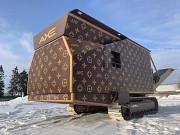 Аренда универсального измельчителя для бетона, строительного мусора, древесины Москва