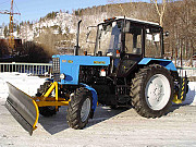 Трактор МК-02 на МТЗ-82 (отвал+ щётка) Екатеринбург