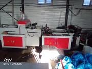 Пакетоделающая машина для пакет «майка» с автоматом вырубки и конвейером Марка RQ700 Б/У Хабаровск