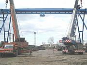 Монтаж и демонтаж кранов мостовых, козловых, кран балок опорных и подвесных Красноярск