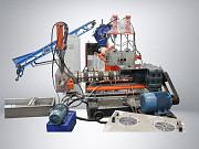 Линия грануляции стренговая резка для плёнки и мешковины 500кг/ч Краснодар