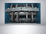 Дробилка с моющим шнеком 45 кВт на 800 кг/ч Орёл