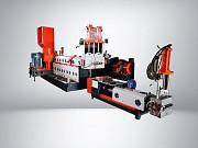Линия грануляции мягких отходов SJ2 150/150 SKGM+ с компактором Симферополь