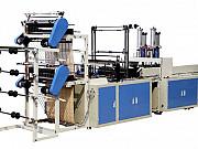 Четырехручьевая автоматическая пакетоделательная машина для производства пакетов «майка» Москва