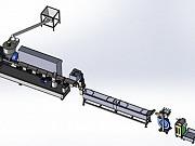 Стренговый гранулятор для переработки полимеров и пластика Москва