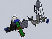 Гранулятор для полимеров и пластика с водокольцевой резкой гранул Москва