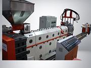 1-каскадный гранулятор для твёрдых отходов 300кг/ч Подольск