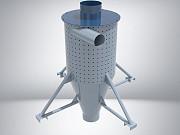 Новый перфорированный циклон для полимеров Ц-450-1A-D Подольск