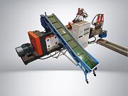 Гранулятор двухкаскадник для плёнки и мешковины 500 кг/ч Краснодар