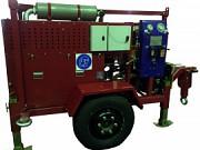 Бензиновая лебедка для прокладки кабеля серии лси.т.б с бензиновым двигателем с тяговым усилием до 5 Москва