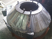 Передняя крышка гранулятора ОГМ 1.5 из нержавеющей стали Москва