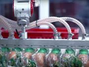 Роботизированный комплекс по укладке хлебобулочных изделий. Стопирование тары Подольск