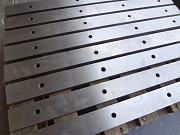 Производство, шлифовка и продажа новых ножей для гильотинных ножниц по металлу Москва