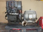 Компрессор пк-3.5А в сборе с двигателем. Рабочий Пенза