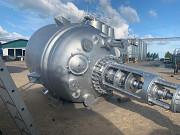 Эмалированный реактор 8 м3. Химический реактор Серн 8000 литров Москва