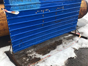 Ограждения из профлиста на металлическом каркасе Нижний Новгород