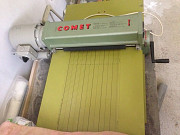 Электрический станок COMET для нарезки меха и кожи на полосы Б/У Москва